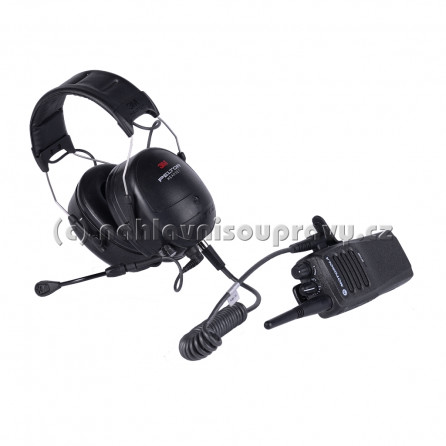 Motorola DP1400 / 3M Peltor Flex Headset