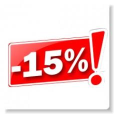 15% sleva na výrobky Axtel