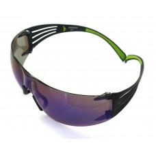 Brýle 3M SecureFit 400, Modré zrcadlové, povrch AS