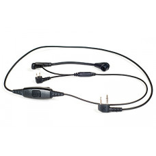 Flex Microphone kit with 3,5 mm, 2,5 m straight contact
