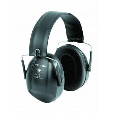 Mušlové chrániče sluchu Bull's Eye I, skládací, černé, 27dB (10ks)