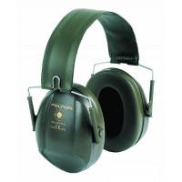 Mušlové chrániče sluchu Bull's Eye I, skládací, zelené, 27dB