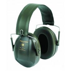 Mušlové chrániče sluchu Bull's Eye I, skládací, zelené, 27dB (10ks)