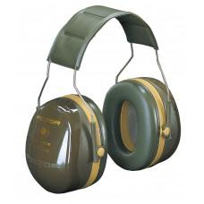 Mušlové chrániče sluchu 3M Peltor BULL'S EYE III, vojenská zelená