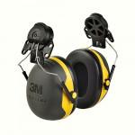 3M PELTOR X-series Mušlové chrániče X2 s úchytem na přilbu P3E