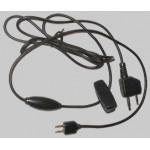 3M Peltor TAMT06 Kabel J22 na 2,5/3,5 mm,přímý s PTT/mikrofonem