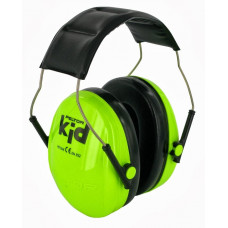 3M Peltor Kid - dětské chrániče sluchu, fluorescenční Hi-Viz, zelené