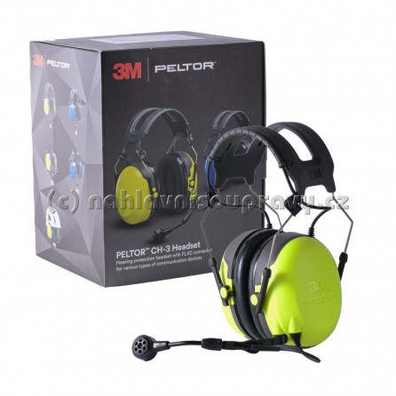 3M Peltor CH-3 FLX2 headset, páska přes hlavu - Ground Mechanic