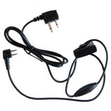 3M Peltor TAMT06V Kabel J22 na 2,5/3,5 mm,rohový s PTT/mikrofonem