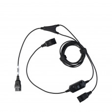 "Axtel ""Y"" kabel pro supervisory s tlačítkem MUTE"