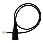 Jabra připojovací kabel rovný 8800-00-01, 0,5m, QD/RJ