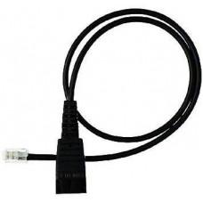 GN Netcom připojovací kabel - 8800 00 37 - rovný, 0,5m; QD/RJ