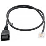 Připojovací kabel pro Siemens Openstage / Aastra / Mitel, 0,5m, rovný