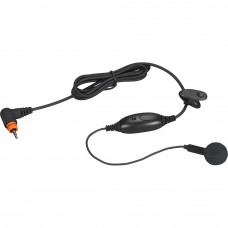Mag One earbud with in-line microphone and PTT