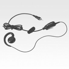 Earpiece with inline PTT button