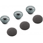 Plantronics Voayger 5200 Spare, Ear Tip Kit, Foam Covers, 3 small earbuds 3 small foam cushions 3 friction rings