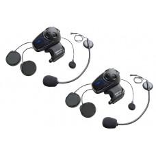 Interkom / headset na motorku Sena SMH10 s univerzální sadou mikrofonů, dvojitá sada