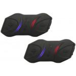Nízko-profilový Interkom / headset na motorku Sena SMH10R dvojitá sada