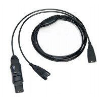 """VXI QD1028-G w/ mute (supervisor """"Y"""" kabel)"""
