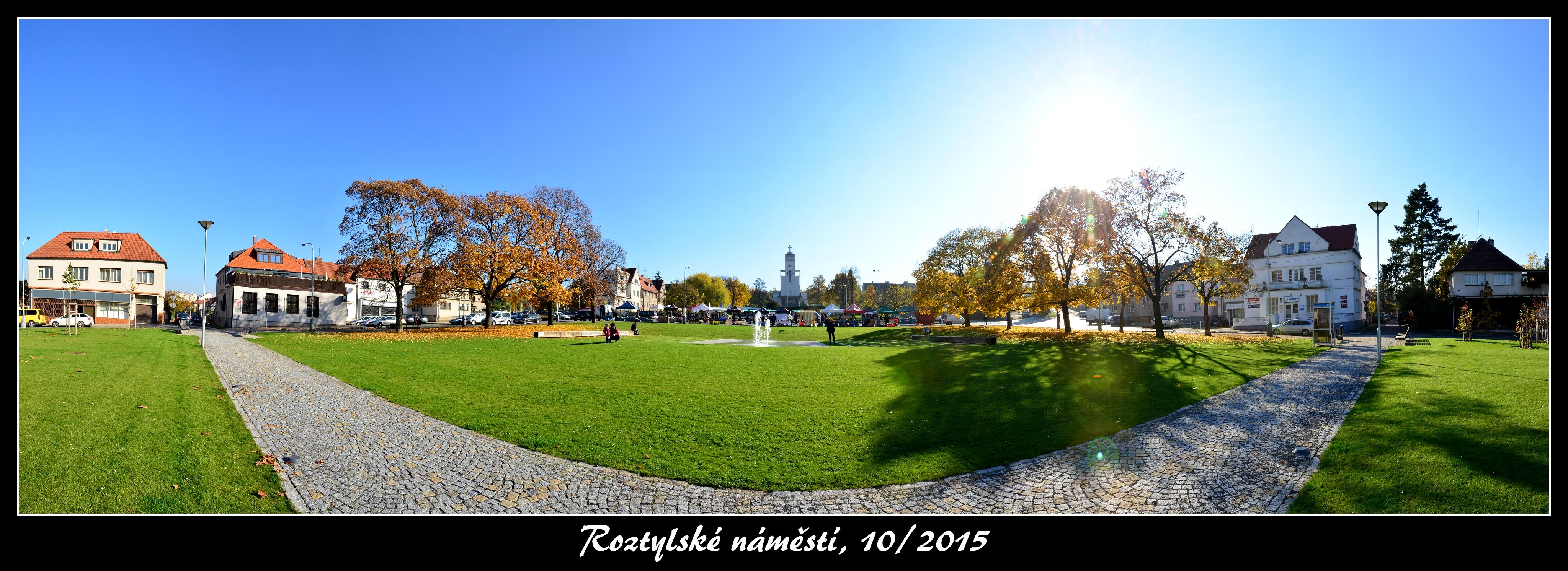 Roztylské náměstí - panorama